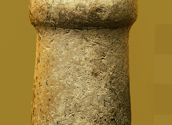 Phallic sculpture with engraved human head, 7800–6500 BC (Photo A. Reiche)