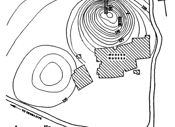 Plan of the site on Tell Djassa al-Gharbi.