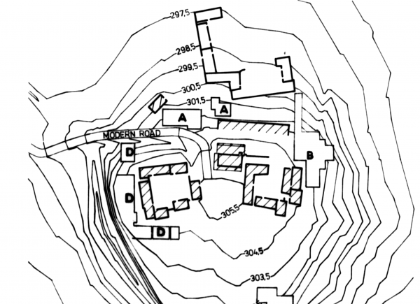 Tell Rad Shaqra, plan of the site