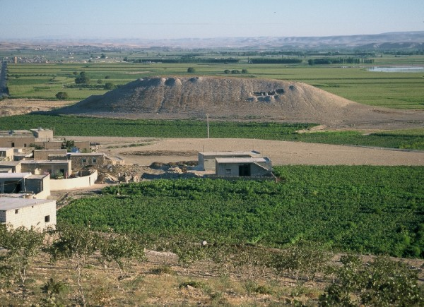 General view of Tell Amarna in 2000 from the south (T. Waliszewski)